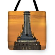 Empire State Building Esb Broadcasting Nyc Tote Bag