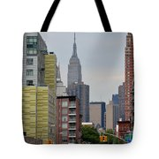 Empire State Empty Street Tote Bag