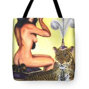 Empress And Her Cat Tote Bag