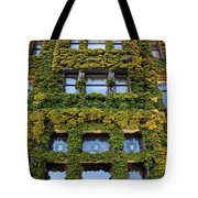 Empress Hotel Windows Tote Bag