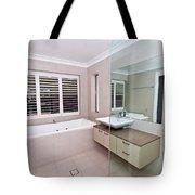 Empty Bathroom Tote Bag
