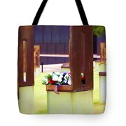 Empty Chairs Tote Bag