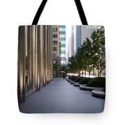 Empty Chicago Sidewalk Tote Bag