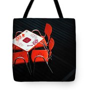 Empty Coffee Table Tote Bag