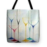 Empty Glasses Tote Bag