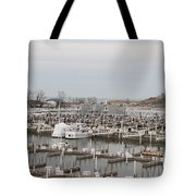 Empty Harbor Tote Bag