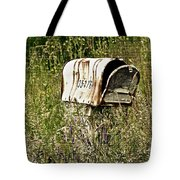 Empty Mailbox At 35476 Tote Bag