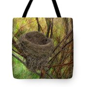 Empty Nest In Autumn Tote Bag