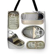 Empty Old Tin Cans Tote Bag