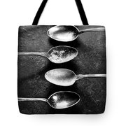 Empty Pan With Old Spoons  Tote Bag