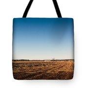 Empty Potato Fields Tote Bag