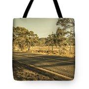 Empty Regional Australia Road Tote Bag