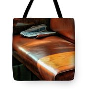 Empty Seat Train To Versailles From Paris.  Tote Bag