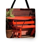Empty Space For Two Tote Bag