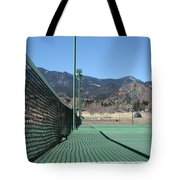 Empty Tennis Courts Tote Bag