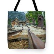 Empty Tracks Tote Bag by Tony Baca