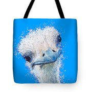 Emu Painting Tote Bag