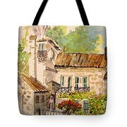 En Plein Air At Moulin De La Roque France Tote Bag
