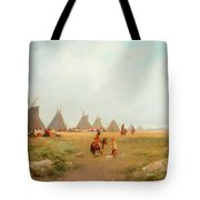Encampment Tote Bag