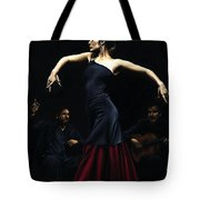 Encantado Por Flamenco Tote Bag by Richard Young