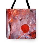 Encased In Red Tote Bag