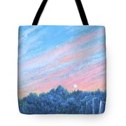 enchanced- Catching the SunSet Tote Bag