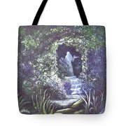 enchanced Temptation Coming Tote Bag