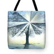 enchanced Tree Light Tote Bag