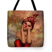 Enchanted Acorn Elf Tote Bag