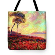 Enchanted By Poppies Tote Bag