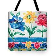 Enchanted Florals Tote Bag