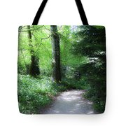 Enchanted Forest At Blarney Castle Ireland Tote Bag