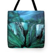 Enchanted Hideaway Tote Bag by Cynthia Adams