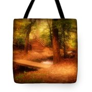 Enchanted Path - Allaire State Park Tote Bag