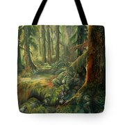 Enchanted Rain Forest Tote Bag