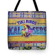 Enchanted Tiki Birds Tote Bag