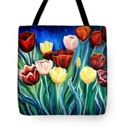 Enchanted Tulips Tote Bag