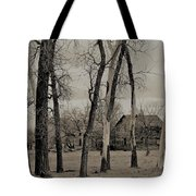 Home In The Wood Tote Bag