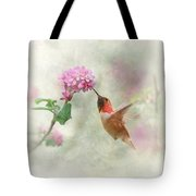 Enchantment In The Garden Tote Bag