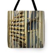 Enclosed Fire Escape Tote Bag