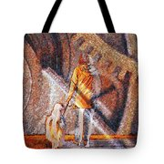 Encounter With Destiny... Tote Bag
