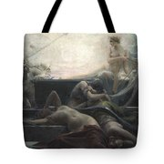 End Of All Things Tote Bag