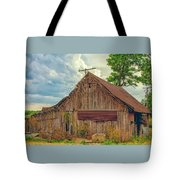 End Of An Era In Sailor Springs Illinois Tote Bag