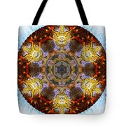 10481 End Of Days 2 Kaleidoscope Tote Bag