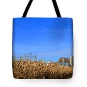 End Of Season Corn 2015 Tote Bag