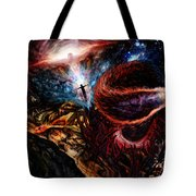 End Of Space Tote Bag