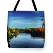 End Of The Day At The Lake Tote Bag