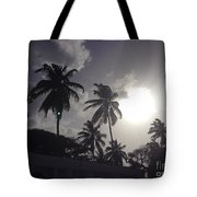 End Of The Day In The Islands Tote Bag