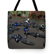 End Of The Ride Tote Bag