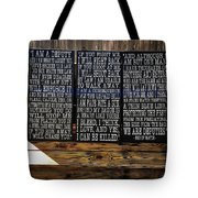 End Of Watch Tote Bag